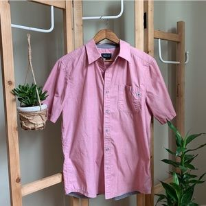 Men's Marmot Short Sleeve Button Down Shirt - M